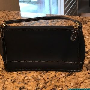 Coach Bags - `Coach Mini Purse Black Leather 5 X 8 1/2 Clean